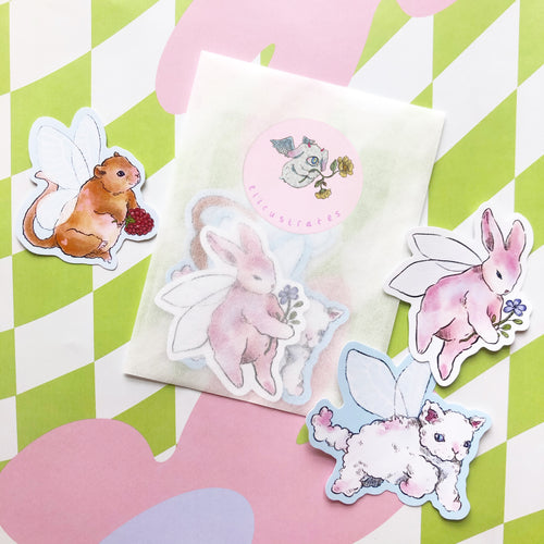 Forest Fairy Sticker Set
