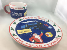 """Cookies and Milk"" for Santa Stoneware Set"