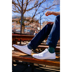 American White Canvas Sneakers Casual Shoes & Free Travel Bag - OwensAssetFund Gifts