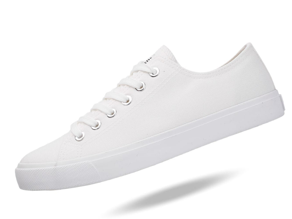 Unisex American White Canvas Sneakers Casual Shoes & Free Trave Bag - OwensAssetFund Gifts