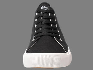 American Black Canvas Sneakers Casual Shoes & Free Travel Bag - OwensAssetFund Gifts