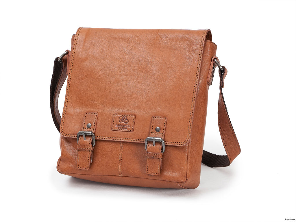 iPad Flap Bag - Tan