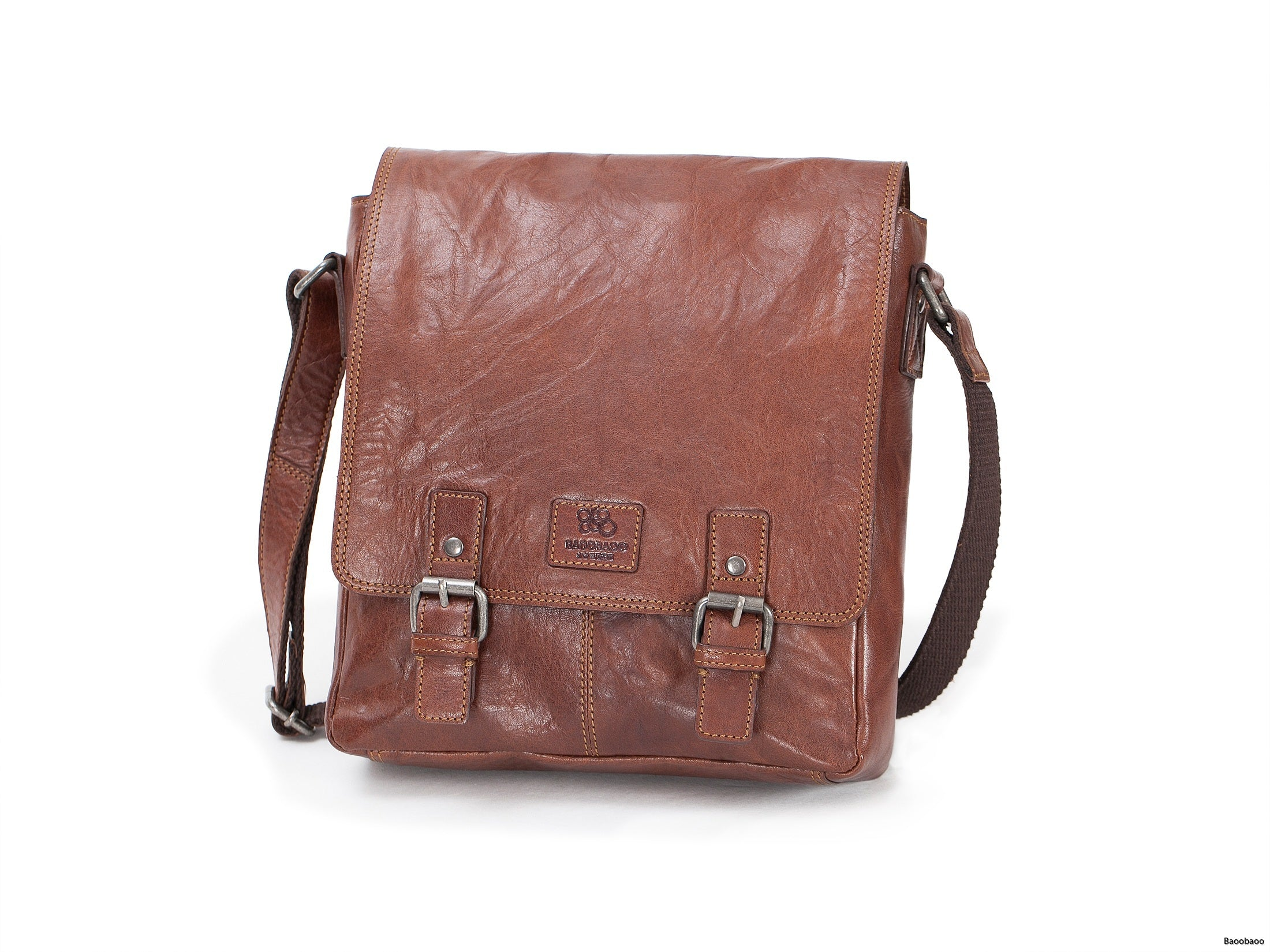 iPad Flap Bag - Brun