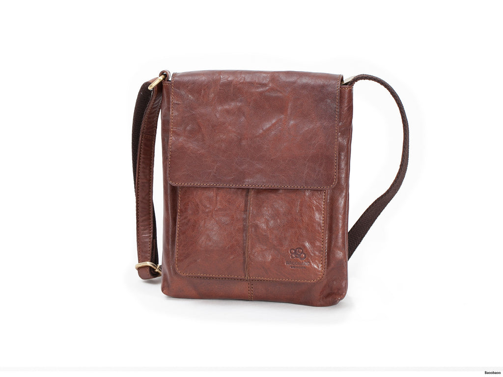 Flap Bag - Brun Medium