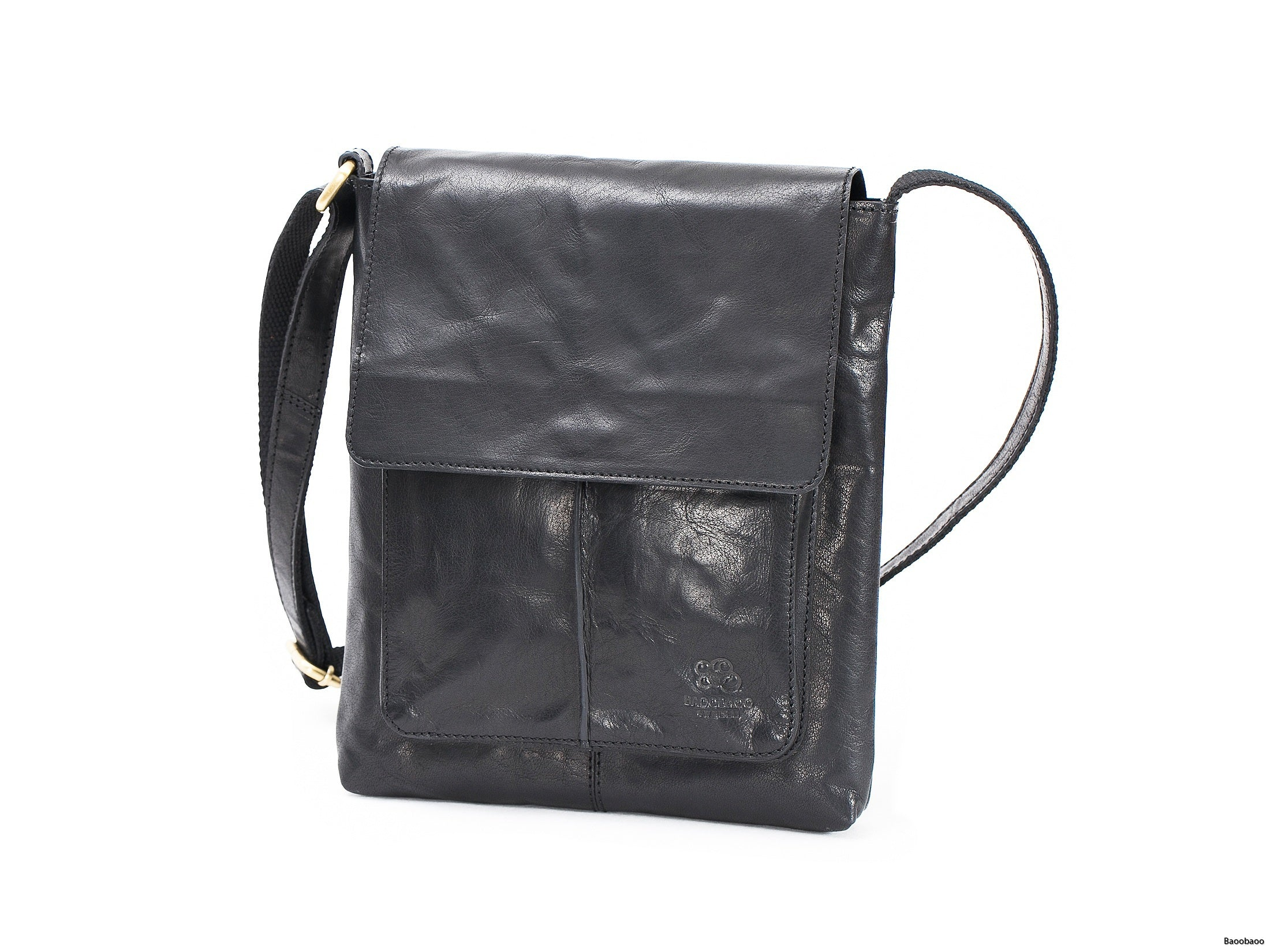 Flap Bag Svart Medium
