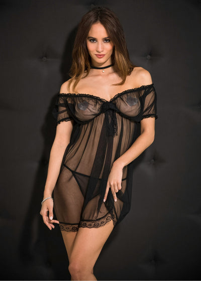 Babydoll in string