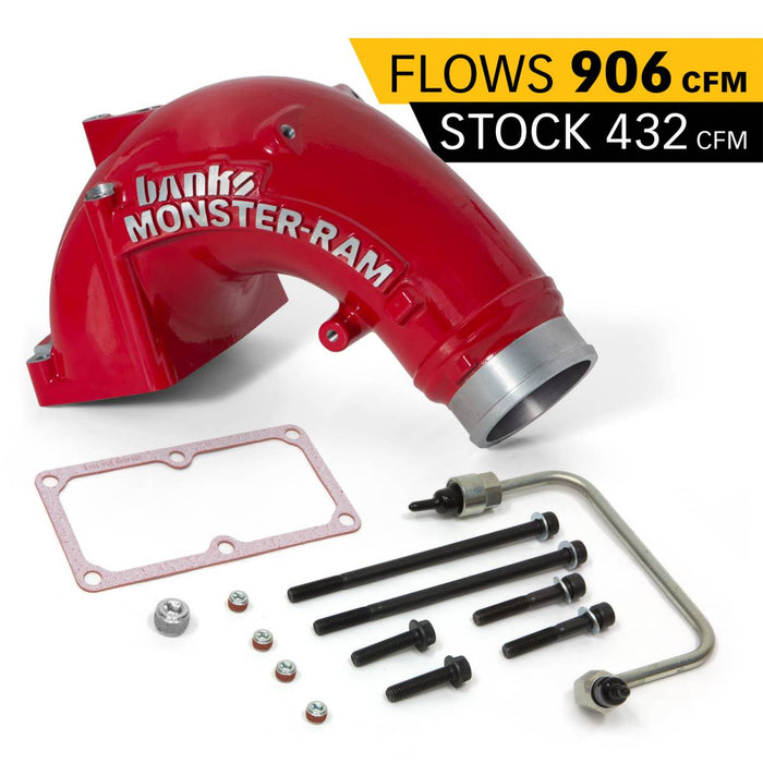 Monster-Ram Intake System w/Fuel Linke Kit for 07.5-18 Dodge 6.7L