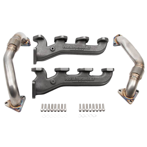 ProFab Manifolds & Up Pipes for 2001-2016 Duramax Single Turbo Applications