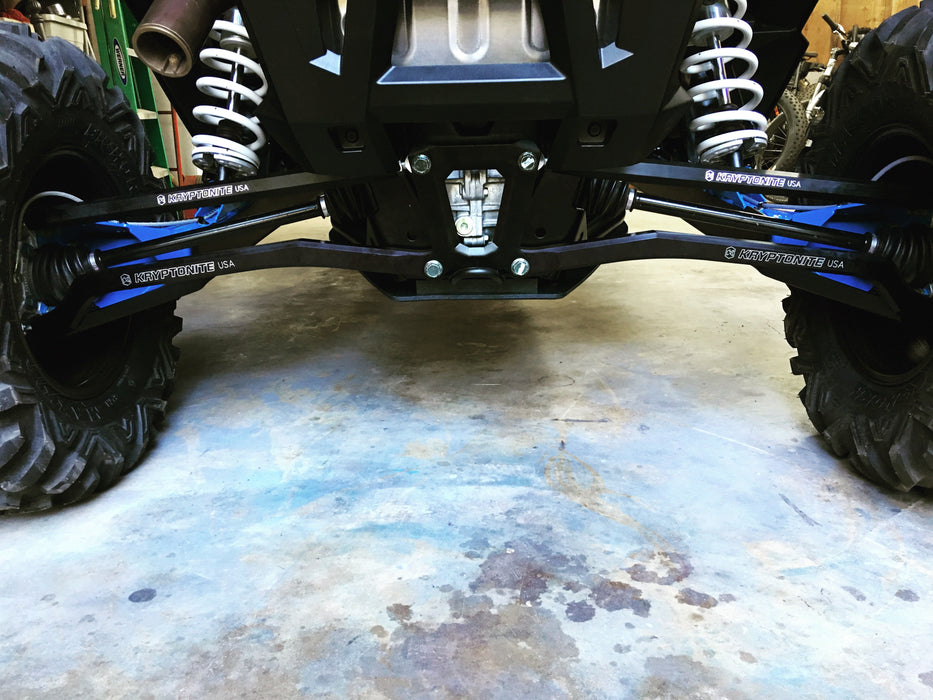 KRYPTONITE POLARIS RZR Hard Core Steering and Suspension Package Stage 1