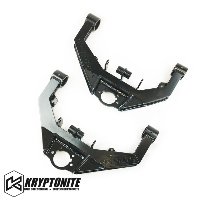 KRYPTONITE STAGE 2 UPPER CONTROL ARMS w/ DUAL SHOCK MOUNTS 2001-2010