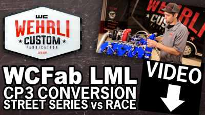 LML CP3 Conversion Kit- Street Series WCFAB