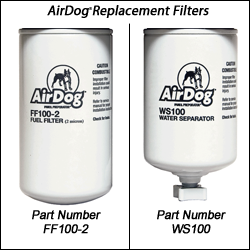 Airdog Replacement Filter Package