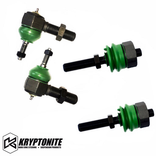 KRYPTONITE Tie Rod Rebuild Kit For Tie Rods With Stock Center Link 1999-2010