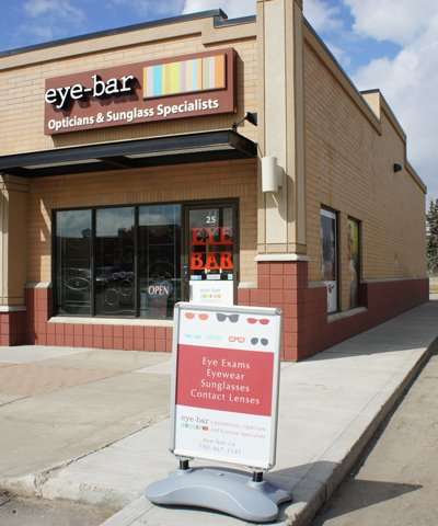 About eye-bar in Sherwood park