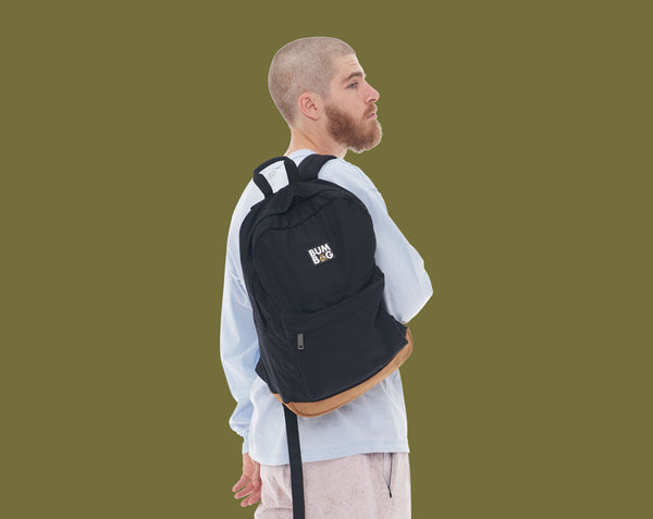 [WHS] Scout Backpack Bumbag- Black