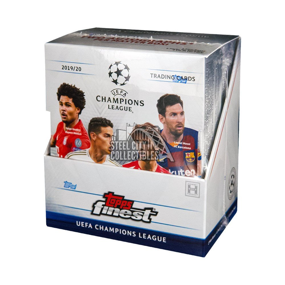 2019-20 Topps Finest UEFA Champions League Soccer Cards - PERSONAL BOX BREAK