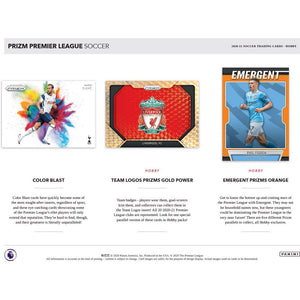 2020-21 PANINI ENLGISH PREMIER LEAGUE EPL PRIZM SOCCER 4 HOBBY BOX (BASE CARDS SHIP) PICK YOUR TEAM PYT BREAK #31