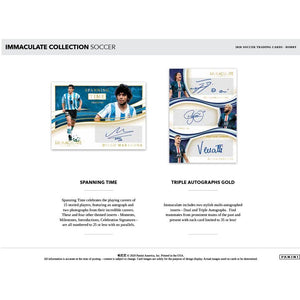 2020 IMMACULATE SOCCER 6 HOBBY BOX PICK YOUR TEAM (PYT) FULL CASE BREAK #192