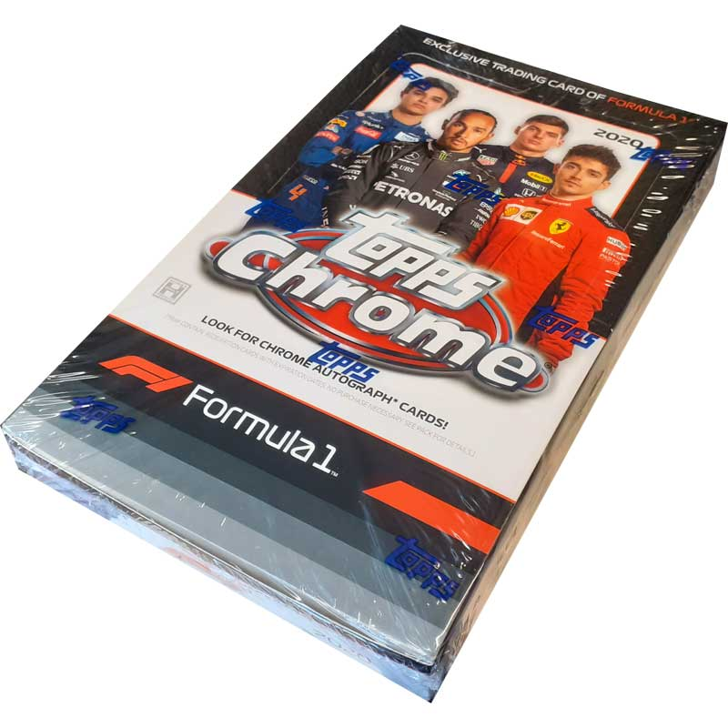 2020 TOPPS CHROME FORMULA 1 PERSONAL HOBBY BOX BREAK (#2)