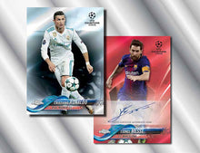 Load image into Gallery viewer, 2017-18 TOPPS UEFA CHAMPIONS LEAGUE CHROME 1 BOX, 9 SPOTS, 2 PACKS PER SPOT, RANDOM PACKS BREAK - #4