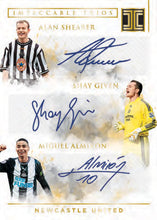 Load image into Gallery viewer, 2019-20 PANINI IMPECCABLE PREMIER LEAGUE SOCCER 3 BOX HOBBY CASE BREAK #171