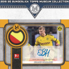 Load image into Gallery viewer, 2019-20 Topps BUNDESLIGA Museum Collection Soccer PERSONAL Hobby Box SHIP SEALED