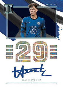 2020-21 PANINI IMPECCABLE PREMIER LEAGUE SOCCER 3 BOX HOBBY PYT CASE BREAK #6