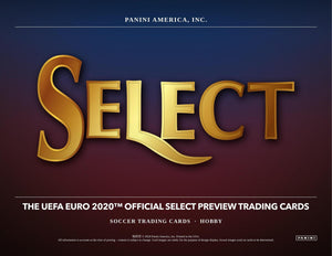 2020 Panini Select UEFA Euro Soccer 4 Box Mixer (2 Hobby Boxes, 2 Hybrid Boxes) Pick your Team Break #38