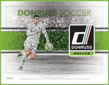Load image into Gallery viewer, 2016 PANINI DONRUSS SOCCER HOBBY BOX - PERSONAL BOX BREAK (PULISIC ROOKIE DEBUTS HUNTING!)