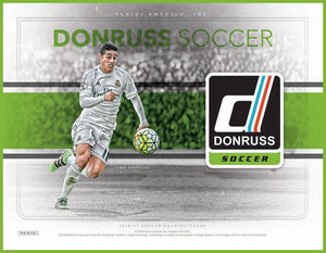 2016 PANINI DONRUSS SOCCER HOBBY BOX - PERSONAL BOX BREAK (PULISIC ROOKIE DEBUTS HUNTING!)