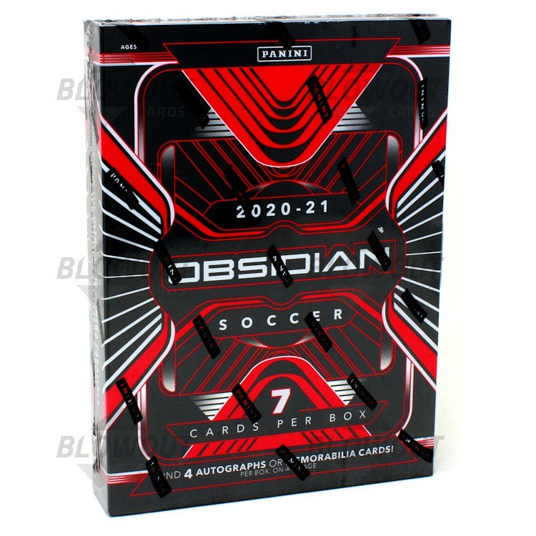 2020 OBSIDIAN SOCCER PERSONAL HOBBY BOX