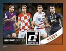 Load image into Gallery viewer, 2018-19 PANINI DONRUSS SOCCER 3 BOX MIXER (HOBBY, JUMBO, BLASTER) PICK YOUR TEAM PYT BREAK #190