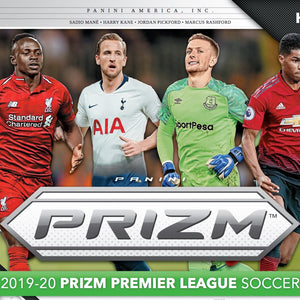 2019-20 PANINI PRIZM PREMIER LEAGUE EPL SOCCER 12 BOX HOBBY CASE BREAK #7