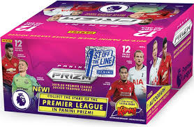 (FIRST OFF THE LINE) 2019-20 PANINI PRIZM PREMIER LEAGUE EPL SOCCER 6 BOX BREAK #4