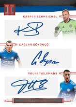 Load image into Gallery viewer, 2020-21 PANINI IMPECCABLE PREMIER LEAGUE SOCCER 3 BOX HOBBY PYT CASE BREAK #5
