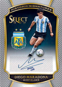 2016-17 PANINI SELECT SOCCER HOBBY BOX - PERSONAL BOX BREAK