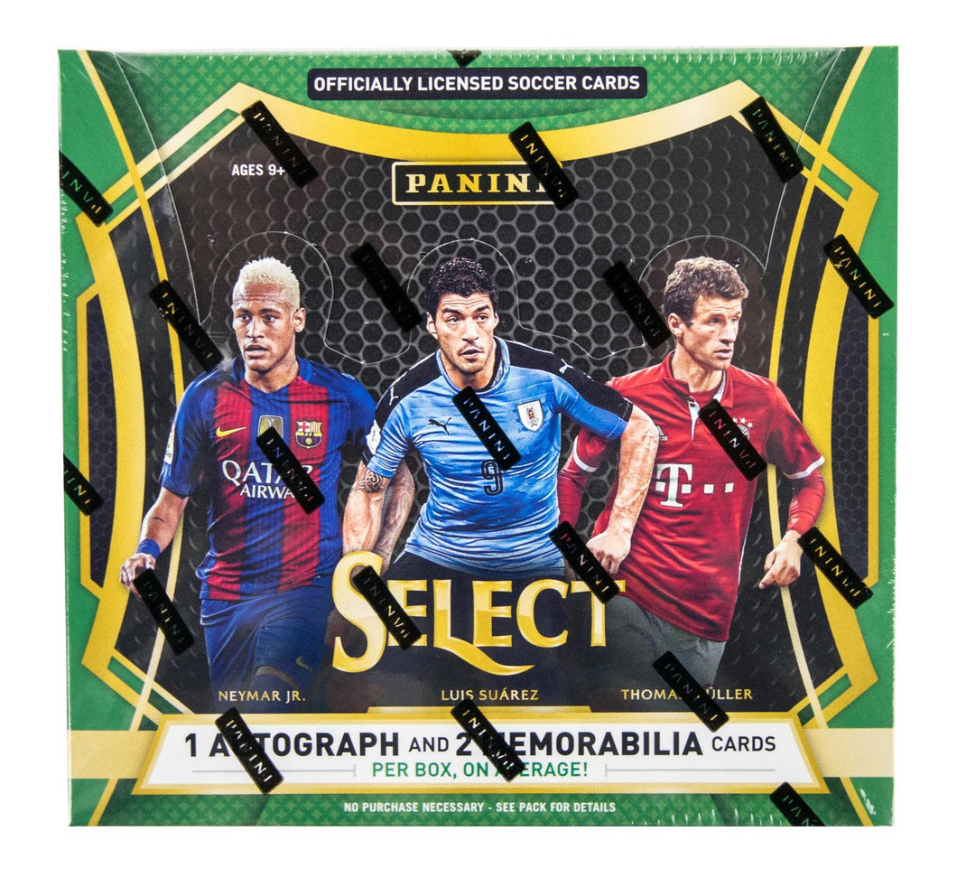 2016-17 PANINI SELECT SOCCER HOBBY 12 BOX CASE - PERSONAL CASE BREAK!!