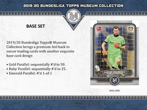 2019-20 Topps BUNDESLIGA Museum Collection Soccer PERSONAL Hobby Box SHIP SEALED
