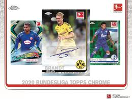 2019-20 Topps Bundesliga Chrome Soccer Cards - PERSONAL BOX BREAK