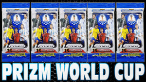 2018 PANINI FIFA PRIZM WORLD CUP FAT PACKS 12 SPOT RANDOM PACKS 1 BOX BREAK #275