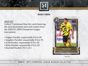 2020-21 Topps UEFA Champions League Museum Collection PERSONAL Soccer Box OPEN LIVE ONLY - Case #3
