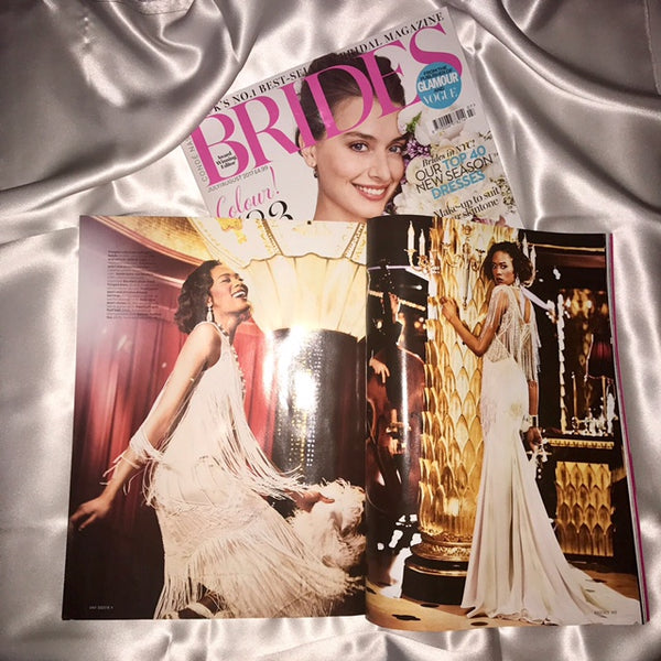 Rockcoco Fans featured in Brides magazine Conde' Nast