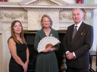 Rockcoco Fine Fans & the Worshipful Company of Fan Makers support the Lord Mayors Appeal