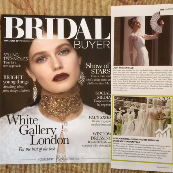 Rockcoco Fans featured in Bridal Buyer Magazine