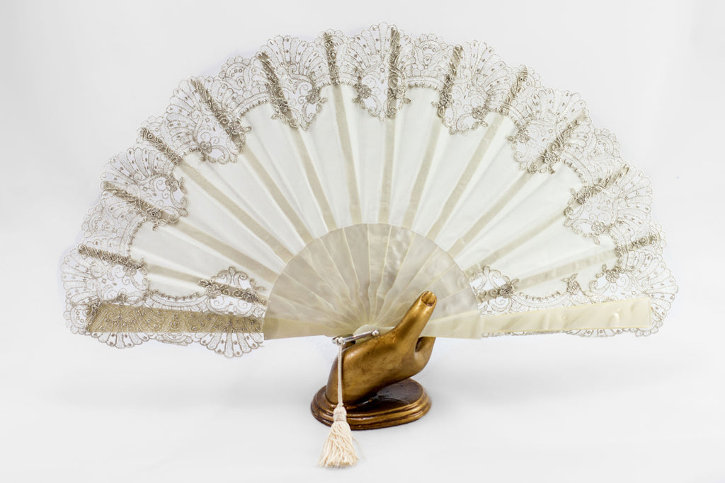 Valencia - Rockcoco fans stunning bridal / evening wear luxury hand fan