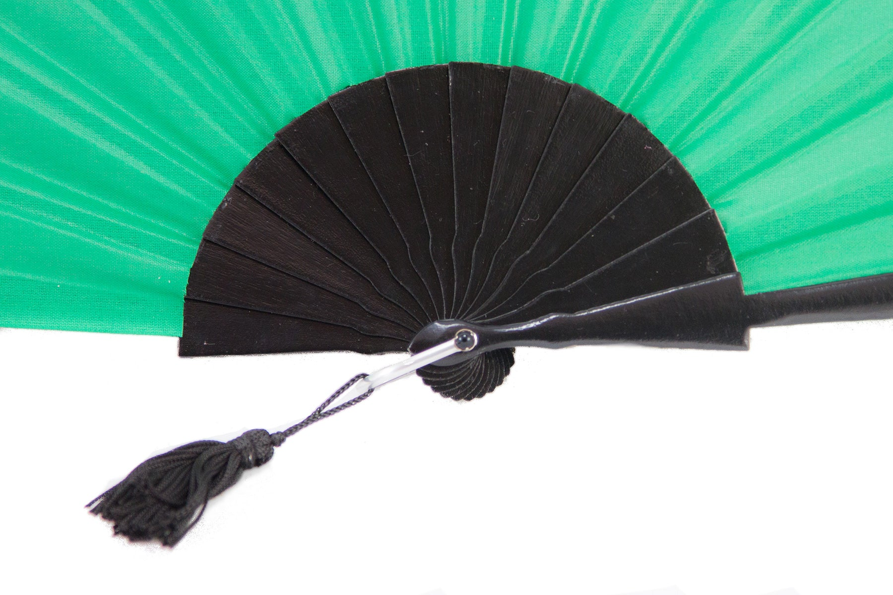 Rockcoco fans Green Glastonbury festival hand fan