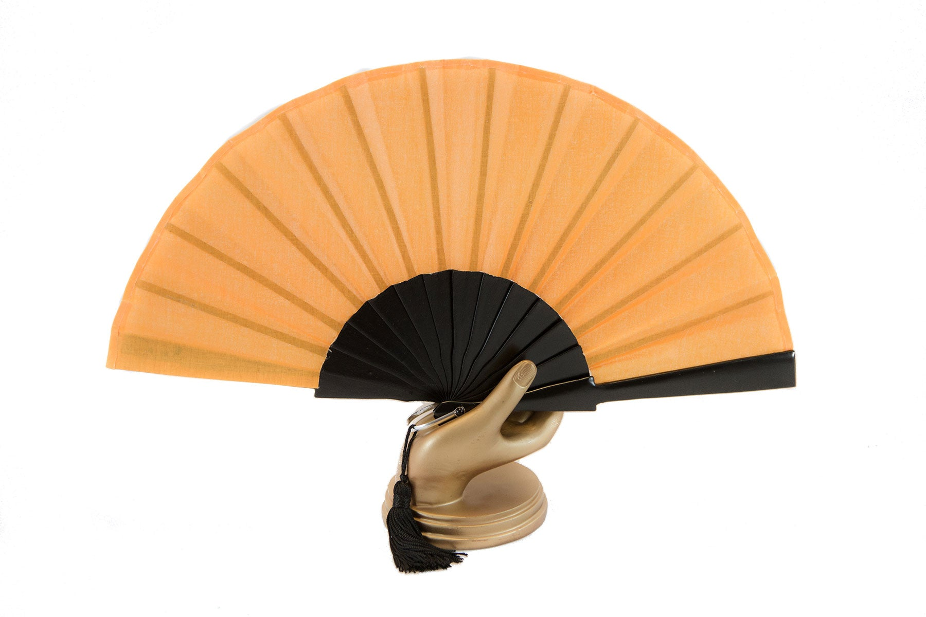 Orange Glastonbury festival hand fan