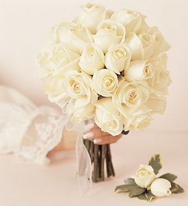 Rose Bride's Bouquet