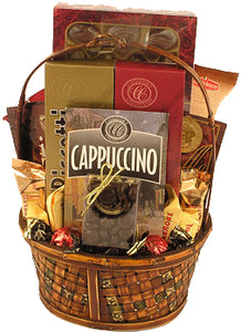 Coffee and Chocolate Gourmet Basket