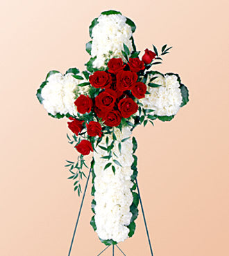 Floral Cross Arrangement